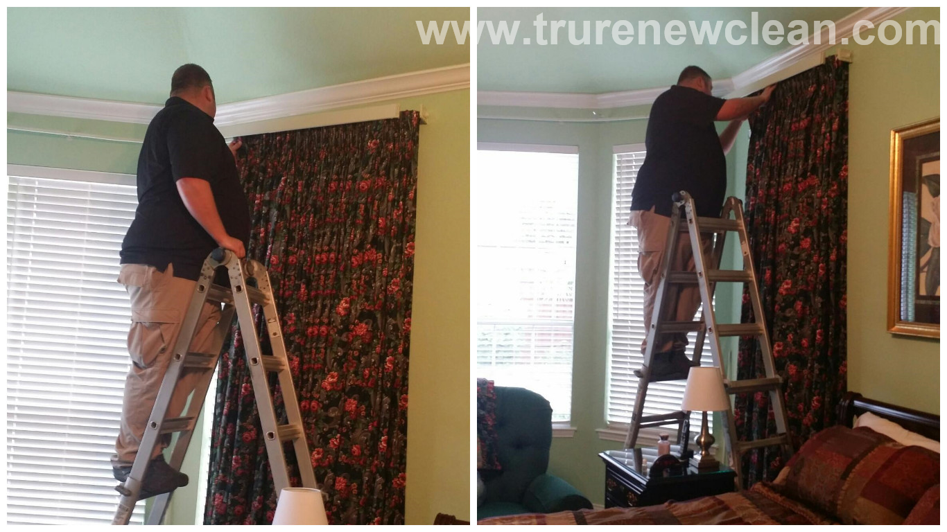 Drapery Cleaning in McKinney, Texas TX