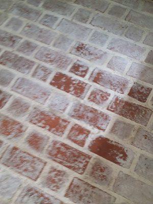 Brick Floor Cleaning in Dallas, TX