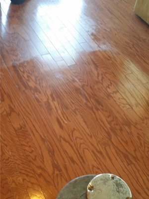Wood Floor Renewal in Frisco, Texas